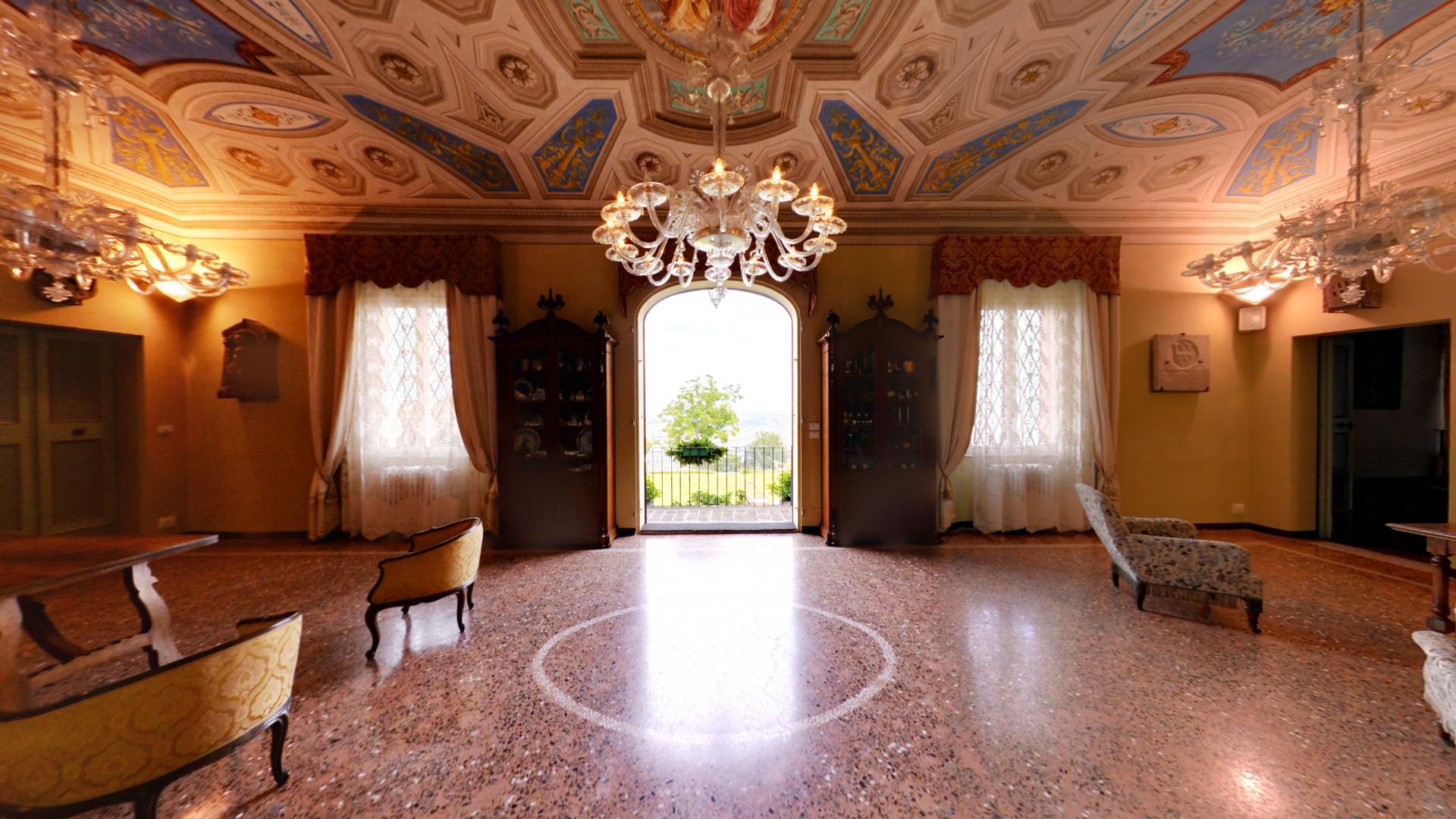 Villa scarani interno villa dei marchesi scarani bologna for Disegni di ville